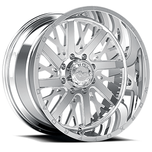 816 Chrome 8 lug