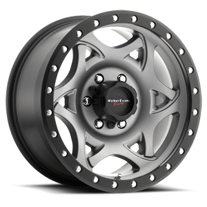 501 Legend Satin Graphite with Satin Black X-Lok Lip 6 lug