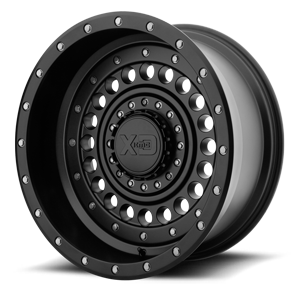 XD136 Panzer Satin Black 6 lug