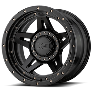 XD138 Brute 5 Satin Black