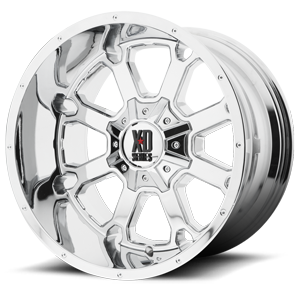 XD825 Buck 25 Chrome 8 lug