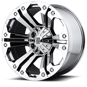 XD778 Monster Chrome 5 lug
