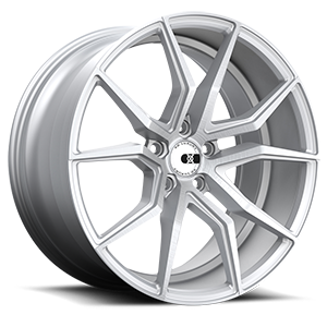 XO Wheels Verona X253 5 Silver w/ Brushed Face