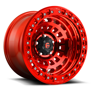 Fuel 1-Piece Wheels Zephyr Beadlock - D100