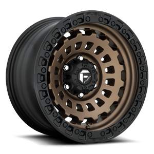 Fuel 1-Piece Wheels Zephyr - D634 [Truck]