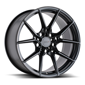 Neptune Semi Gloss Black 5 lug