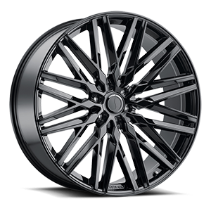 Status Wheels Adamas 6 Gloss Black
