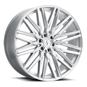 Adamas Silver Machined Face 6 lug