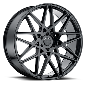 Status Wheels Griffin 6 Gloss Black