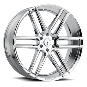 Titan Chrome 6 lug