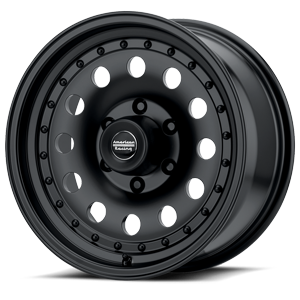 American Racing Custom Wheels AR62 Outlaw II 6 Satin Black