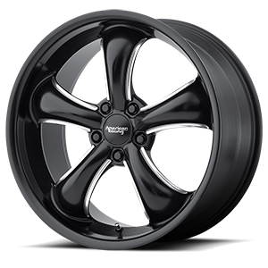 AR912 TT60 Satin Black Milled 5 lug