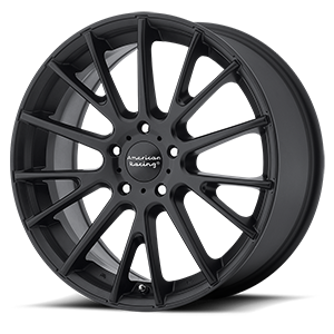 American Racing AR904 5 Satin Black