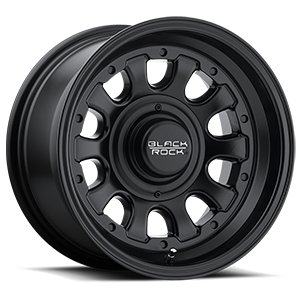 Series 909B Type D Matte Black 5 lug
