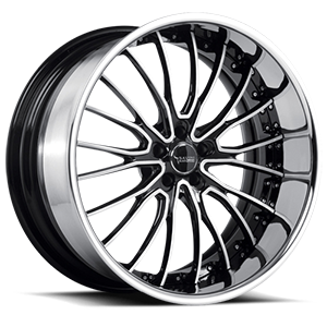 BS5 Brushed Black 5 lug