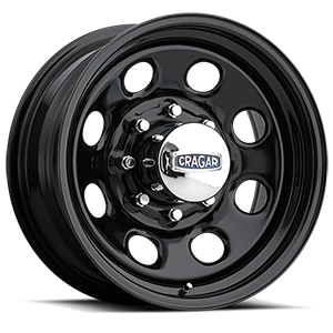 Cragar Series 397 Soft 8 8 Gloss Black