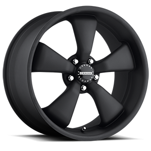 Series 617B Modern Muscle Black 5 lug