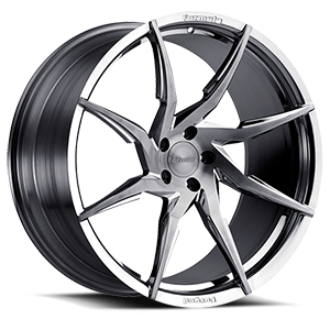 FTS-103 Brushed Gloss Smoke 5 lug