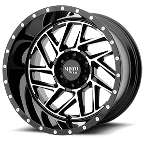 MO985 Breakout 6 Gloss Black Machined