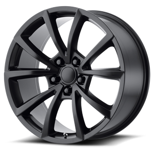 184 Satin Black 5 lug