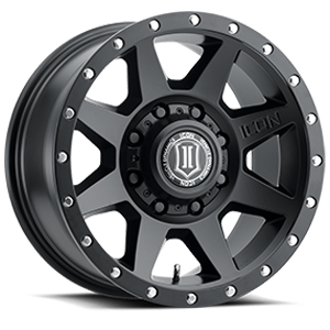 Rebound HD Satin Black 8 lug