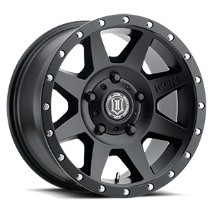 Rebound Satin Black 5 lug