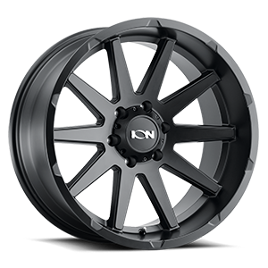 Ion Alloy Wheels 143 6 Matte Black
