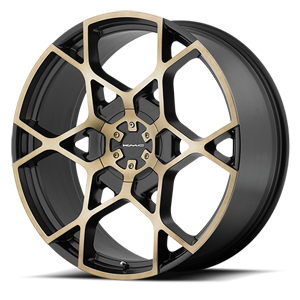 KM695 Crosshair Satin Black w/ Machined Dark Tint Face 5 lug
