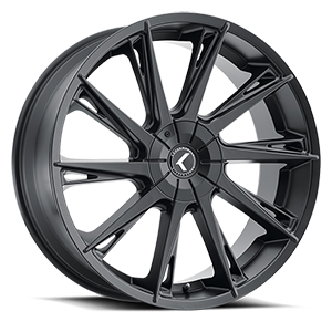 144 Swagg Satin Black 5 lug