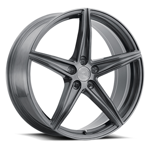 XO Wheels Auckland 5 Brushed Gunmetal