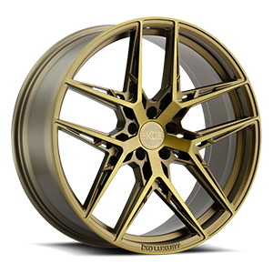 XO Wheels Cairo 5 Bronze w/ Brushed Bronze Face - 21x9