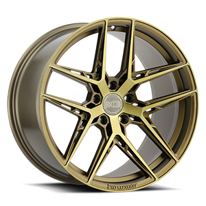 XO Wheels Cairo 5 Bronze w/ Brushed Bronze Face