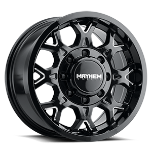 Mayhem Wheels 8809 8 Gloss Black & Milled