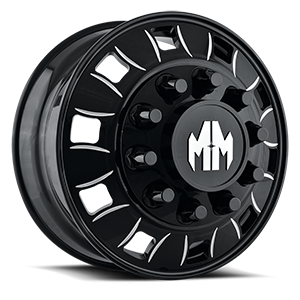 Mayhem Wheels Big Rig 10 Black Milled Spokes