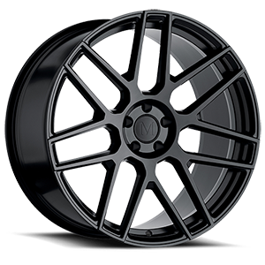 Miglia Semi Gloss Black 5 lug