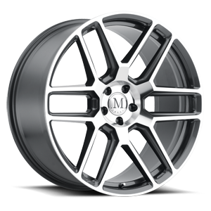 Otto Gunmetal w/ Mirror Cut Face 5 lug