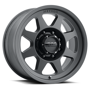 MR701 HD Matte Black 8 lug