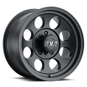 Classic III™ Black - 15x10 Satin Black w/Clear Coat 5 lug