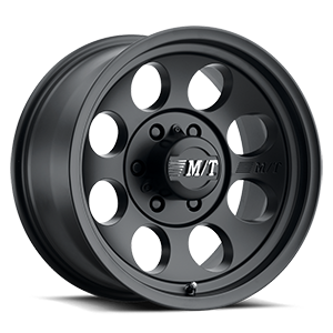 Classic III™ Black - 15x10 Satin Black w/Clear Coat 6 lug