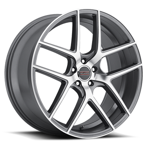 9052 Tycoon Graphite Mirror Machined Face 5 lug