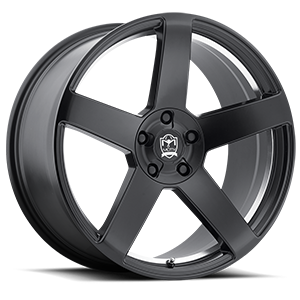 Motiv Luxury Wheels 416 Monterey 5 Satin Black with Mirror Machined Undercut