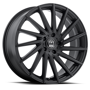 Motiv Luxury Wheels 417 Montage 5 Satin Black