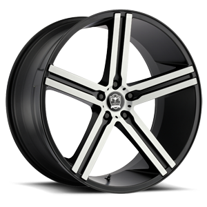 Motiv Luxury Wheels 418 Melbourne 5 Satin Black Machined