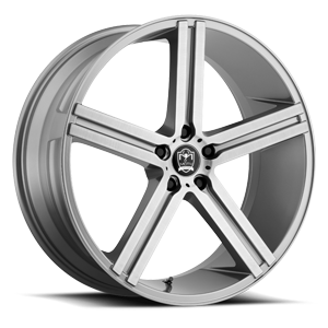 Motiv Luxury Wheels 418 Melbourne 5 Silver Machined