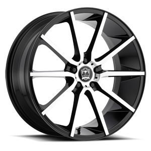 Motiv Luxury Wheels 419 Marseille 5 Gloss Black Machined Face