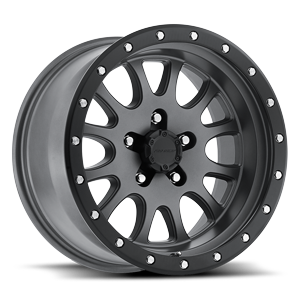 44 Series Syndrome Matte Graphite 5 lug