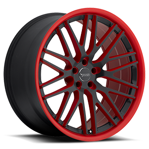 BM4 Black and Red 5 lug