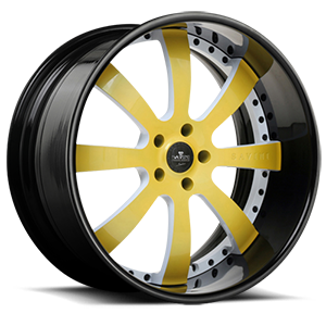 SV28-S Yellow and White 5 lug