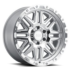 Alamo Silver w/ Mirror Face & Stainless Bolts 6 lug