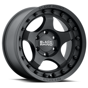 Bantam Textured Black 6 lug